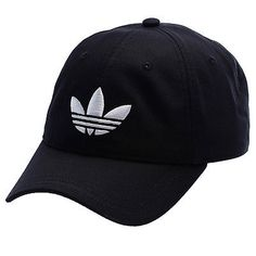 New adidas #originals classic trefoil #black #baseball cap - one size - hat , View more on the LINK: http://www.zeppy.io/product/gb/2/272142900802/