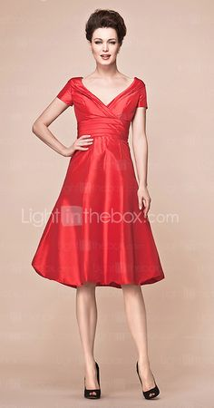 yes, i know, taffeta, but what a great shape for everyone.