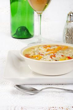 13 Picky Eaters Recipes for Kids - Chicken and Rice Soup - Oprah.com