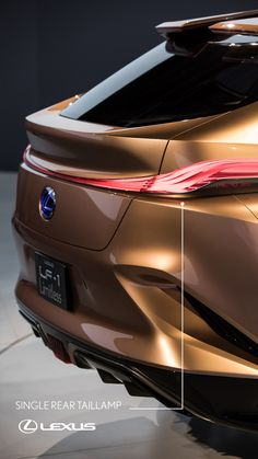 Rear styling. Forward thinking. Check out the #LexusLF1Limitless.