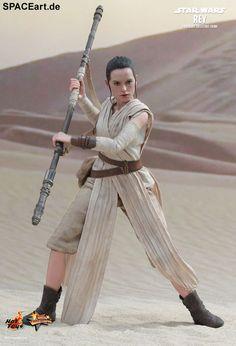 Star Wars: Rey, Deluxe-Figur (voll beweglich) ... https://spaceart.de/produkte/sw085.php