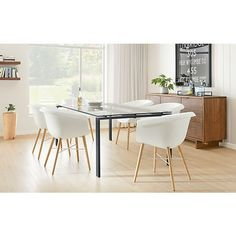 Rand Table with Collier Chairs - Dining - Room & Board