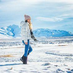 Eine kurze Hitzpause für deinen Kopf - wir freuen uns schon wieder auf den Winter, wer noch? Foto © Style Lullaby Emu, Mountains, Winter, Nature, Travel, Pictures, Fur Fashion, Boots, Women's