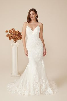 Lace wedding dresses are always romantic! This Justin Alexander sheath wedding dress is comfortable, sexy & romantic with soft lace throughout! Brand new Justin Alexander Style # 88243 Outdoor Wedding Dress, Perfect Wedding Dress, Dream Wedding Dresses, Lace Wedding, Blush Bridal, Bridal Gowns, Designer Wedding Gowns, Designer Dresses, Wedding Dress Shopping