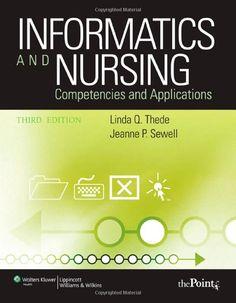 informatics and nursing.