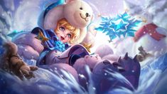 View an image titled 'Fluffy Alice Art' in our Arena of Valor art gallery featuring official character designs, concept art, and promo pictures. Game Character Design, Character Art, Video Game Characters, Disney Characters, Fictional Characters, Games For Girls, Mobiles, Samurai, Alice