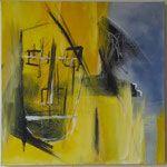Serie 50x50 Sie geht Painting, Art, Monochrome, Painting Art, Photo Illustration, Art Background, Paintings, Kunst, Drawings