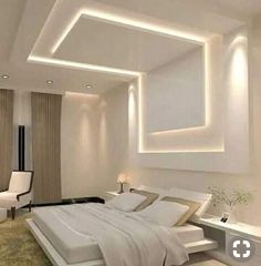 Discover recipes, home ideas, style inspiration and other ideas to try. Simple False Ceiling Design, Gypsum Ceiling Design, Interior Ceiling Design, House Ceiling Design, Ceiling Design Living Room, Home Ceiling, False Ceiling Ideas, Best False Ceiling Designs, Modern Ceiling Design