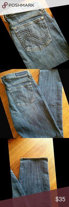 """Rock & Republic Skinny Jeans Rock & Republic Skinny Jeans, Style """"Berlin"""". Measured laid flat: Waist 17. Inseam 30. Rise 10. Rock & Republic Jeans Skinny"""
