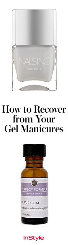 It's no secret the damaging effects gel manicures can have on nails. The good news is the beauty market is filled with strengthening formulas that promise healthier-looking digits with each application. Click to see one editor's road to recovery.