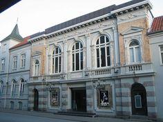 Aalborg Theatre in the centre of Aalborg, Denmark