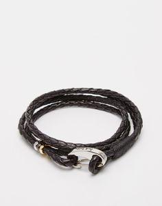 Paul Smith Wraparound Bracelet http://bit.ly/1RycAQh