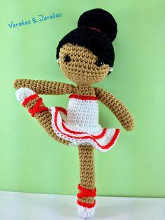 Varetas & Jaretas: Amigurumi bailarina