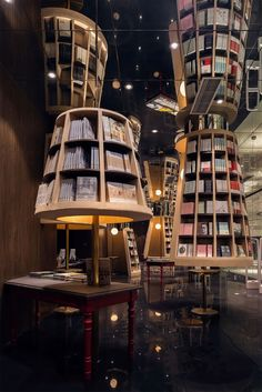 """Straight Out Of Inception"": Enthralling Optical Illusion Bookstore Will Draw You Into A World Of Fantasy"