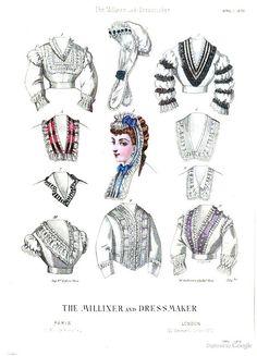 April 1870, The Milliner and Dressmaker