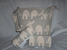 20 OFF Use code 20OFF Elephant Waterproof by LillyBellsBowtique, $105.00