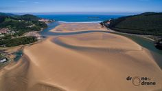 Playa de Laida, Urdaibai - http://bestdronestobuy.com/playa-de-laida-urdaibai/