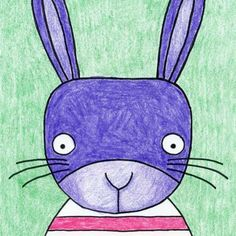 Drawing Gallery · Art Projects for Kids art for kids grade Draw a Cute Bunny Face · Art Projects for Kids Easy Art Projects, Projects For Kids, Spring Projects, Spring Crafts, Drawing For Kids, Art For Kids, Easter Drawings, Easter Paintings, Art Activities For Kids