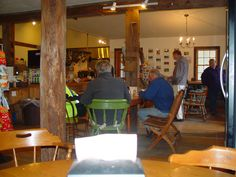 Inside the Woodstock Country Store - Very down home - The food is excellent!