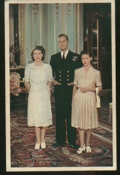 1947 : engagement of Elizabeth and Philip
