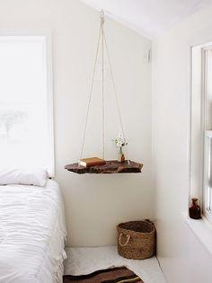 Nice hanging nightstand