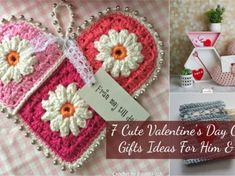 7 Cute Valentines Day Crochet Gifts Ideas For Him & Her!