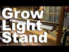 Grow Light Stand - GardenFork.TV - YouTube