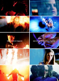 He used to say we were like fire and ice. #theflash