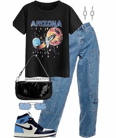 Swag Outfits For Girls, Cute Swag Outfits, Indie Outfits, Teen Fashion Outfits, Teenager Outfits, Edgy Outfits, Retro Outfits, Vintage Outfits, Tomboy Fashion