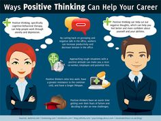 12 Proven Ways Positive Thinking Helps Your Career - Online College Search - Your Accredited Online Degree Directory Positive Thinker, Positive Mindset, Positive Attitude, Positive Quotes, Cognitive Therapy, College Search, Online College Degrees, Importance Of Time Management, Social Media Marketing Agency