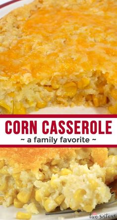 Our Corn Casserole recipe is a family favorite Easter food side dish - this swee. - Our Corn Casserole recipe is a family favorite Easter food side dish – this sweet-savory, corn br - Easter Recipes, Easter Food, Birthday Recipes, Thanksgiving Dinner Recipes, Corn Thanksgiving, Thanksgiving Casserole, Easy Thanksgiving Sides, Christmas Dinner Sides, Christmas Sweets