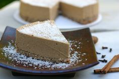 Adapted from raw food chef, Ease Oldham, this Raw Pumpkin Pie Dessert recipe brings a unique twist to your Thanksgiving table.