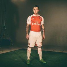 @jackwilshere in the new #Arsenal home kit. #ForeverArsenal #Wilshere @pumafootball