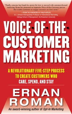 """buy now   £13.11   Learn how you can use the revolutionary five-step marketing process that helped Microsoft, NBC Universal, and IBM achieve double-digit increases in sales.  """"When HP uses the Voice of  ...Read More"""