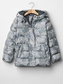 PrimaLoft® Luxe floral puffer