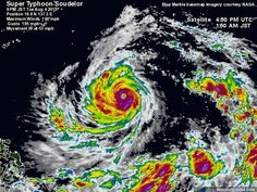 Soudelor: Storm-Centered Satellite Image | Weather Underground