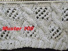 Muster 100*Fischernetze Muster*Muster für Socken**Stricken lernen - YouTube