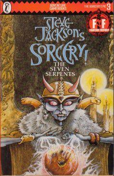 Steve Jackson's Sorcery: The Seven Serpents.