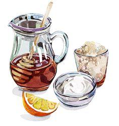 Sweets - Food Illustration - Holly Exley Illustration