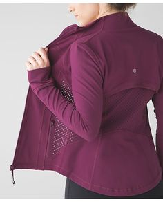 lululemon red-grape-define-exhale fitness clothes clothes cute clothes for women clothes lululemon Athletic Fashion, Athletic Outfits, Athletic Wear, Athletic Clothes, Fitness Outfits, Fitness Fashion, Fitness Wear, Yoga Fashion, Fitness Style