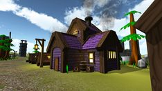 Elevate your workflow with the Top-Down Village Builder Kit asset from Damaged Grounds. Find this & other Fantasy options on the Unity Asset Store. Village Builders, Minecraft Bridges, Fantasy Village, The Thundermans, 3d Fantasy, Prefab, Vector Pattern, Background Patterns, Furniture Ideas