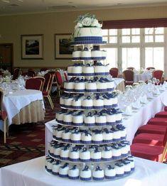 Pride of Scotland Mini Cakes - in Dave's tartan though