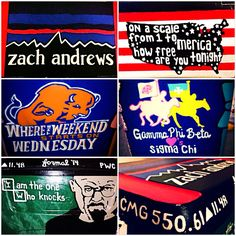 Fraternity cooler sigma chi breaking bad bucknell university. On a scale from one to merica how free are you tonight. Patagonia name design.