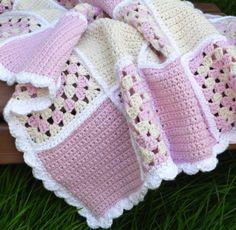 Easy Crochet Baby Afghan Patterns Free