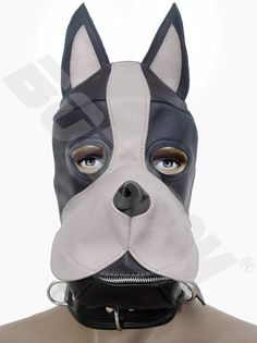 Are you interested in a role of a pup or dog? Or would you like to be a trainer? If yes, consider our Realistic Leather Dog / Puppy Hood!!! This hood designed to have a realistic dog appearance, and to help you and your pup to get into role.    Unzip the muzzle for full access to the mouth. It has a removable mouth SILICONE gag that closed easily with Velcro belts, and can be removed or put on while the hood is being used. Our Leather mask fits easily with generous leather hair-guard and…