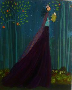 La princesa de los libros {princess of the books}