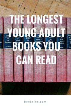 The Longest YA Books You Can Read