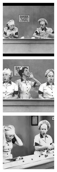 I Love Lucy- Lucy and Ethel- Chocolate Factory (Need a laugh,watch this)