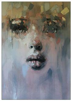 South Africa Artist Ryan Hewett (1979) | oil on canvas....140x100cm