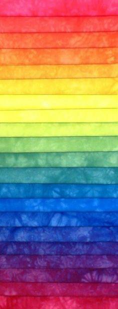 Kleurverloop, de kleuren gaan mooi in elkaar op